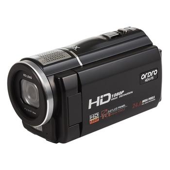 ORDRO F5 Video Camera Camcorder Full HD 1080P 30fps 16X Digital Zoom Camara Filmadora Vlogging Camera