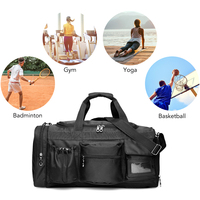 Lixada 35L Multifunctional Sport Bag Men for Gym Travel Fitness Fishing Gym Bag Duffel Bags with Shoes Compartment Sac De Sport
