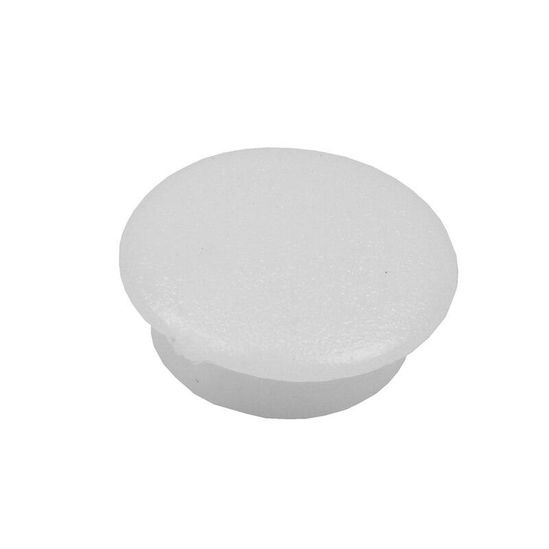 NHBR-Blanking End Caps 10mm Dia Plastic Round Tubing Tube Inserts 10 Pcs