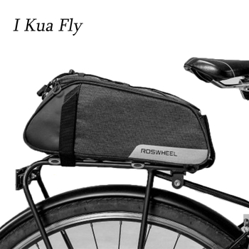 New Cycling Bike Carrier Bag Under Seat MTB Bicycle Accessories Trunk Bag Shoulder Handbag Multifunction Bicycle Tail Rear Bag 4