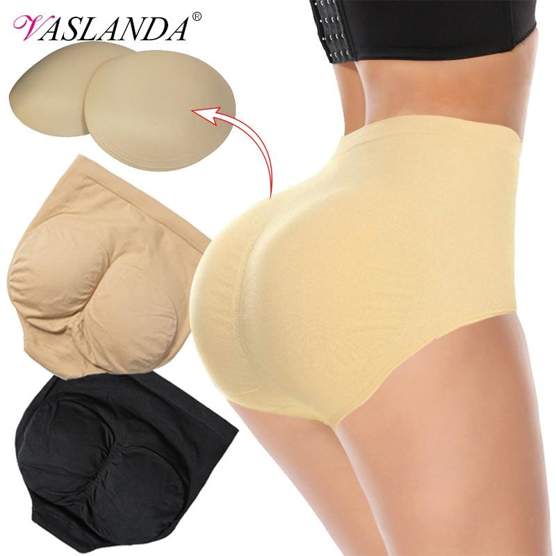 Women Ass Padded Shaping Panties Butt Lifter Body Shaper Hip Enhancer Underwear Waist Faja Tummy Control Panty Booty Pads Briefs