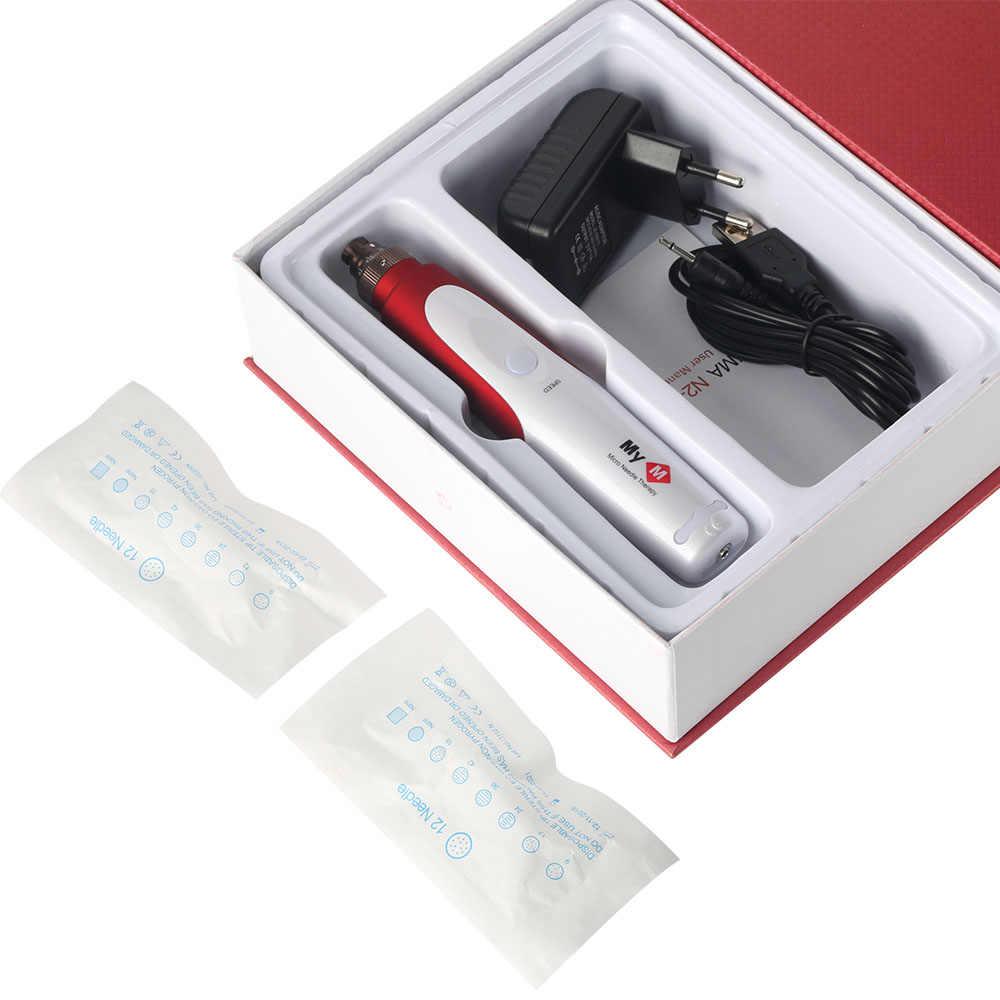 Dr. Ручка ДЕРМАЛЬНАЯ игла картридж для ручки наконечники иглы N2 машина Электрический микро Дерма самонаборный штамп терапия инструмент для красоты инструмент для лица