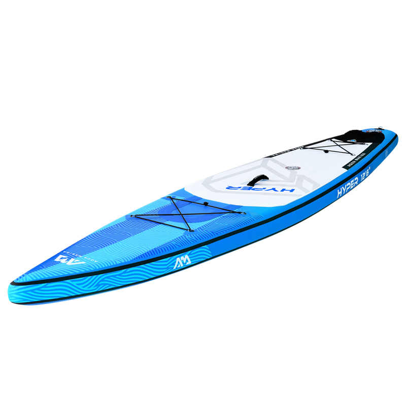 350*79*15cm aqua marina 2019 sup inflável hyper levante-se a placa de paddle prancha de surf inflável prancha de corrida rápida velocidade água