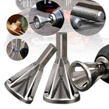 Zk30 2020 mais novo deburring externo chanfro ferramenta de aço inoxidável remover ferramentas rebarbas para ferramenta de perfuração de metal reparação parafuso danificado
