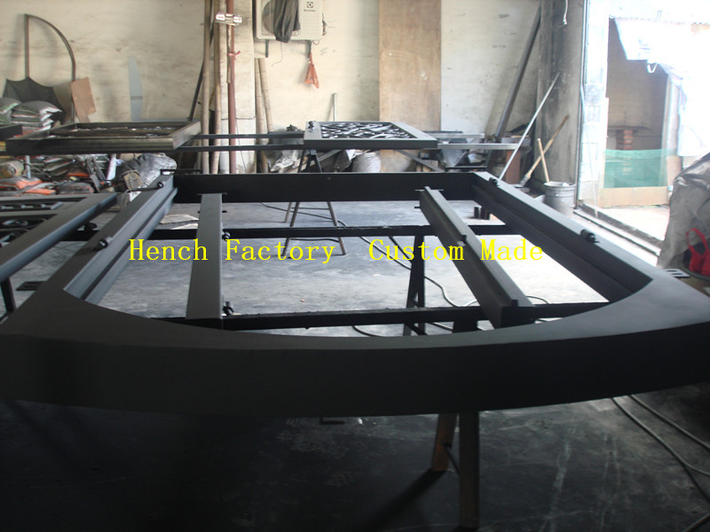 Shanghai Hench Brand China Factory 100% Custom Made Sale Australia Kc Luxury Iron Door Company