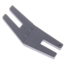 1pc placa de liberação botão reed presser pé corcunda jumper para máquinas de costura acessórios ferramentas de costura