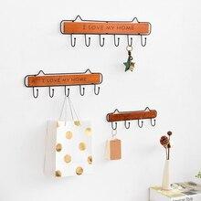 Door Back Wood Hook Colors Hanger Key Coat Clothes Bathroom Accessories Kitchen Handbag Organizer Cabinet Draw Door Wall Hooks цена