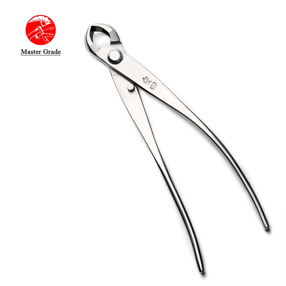175 Mm Knob Cutter Concave Edge Cutter Master Quality Level 5Cr15MoV Stainless Steel Bonsai Tools Made By TianBonsai Company