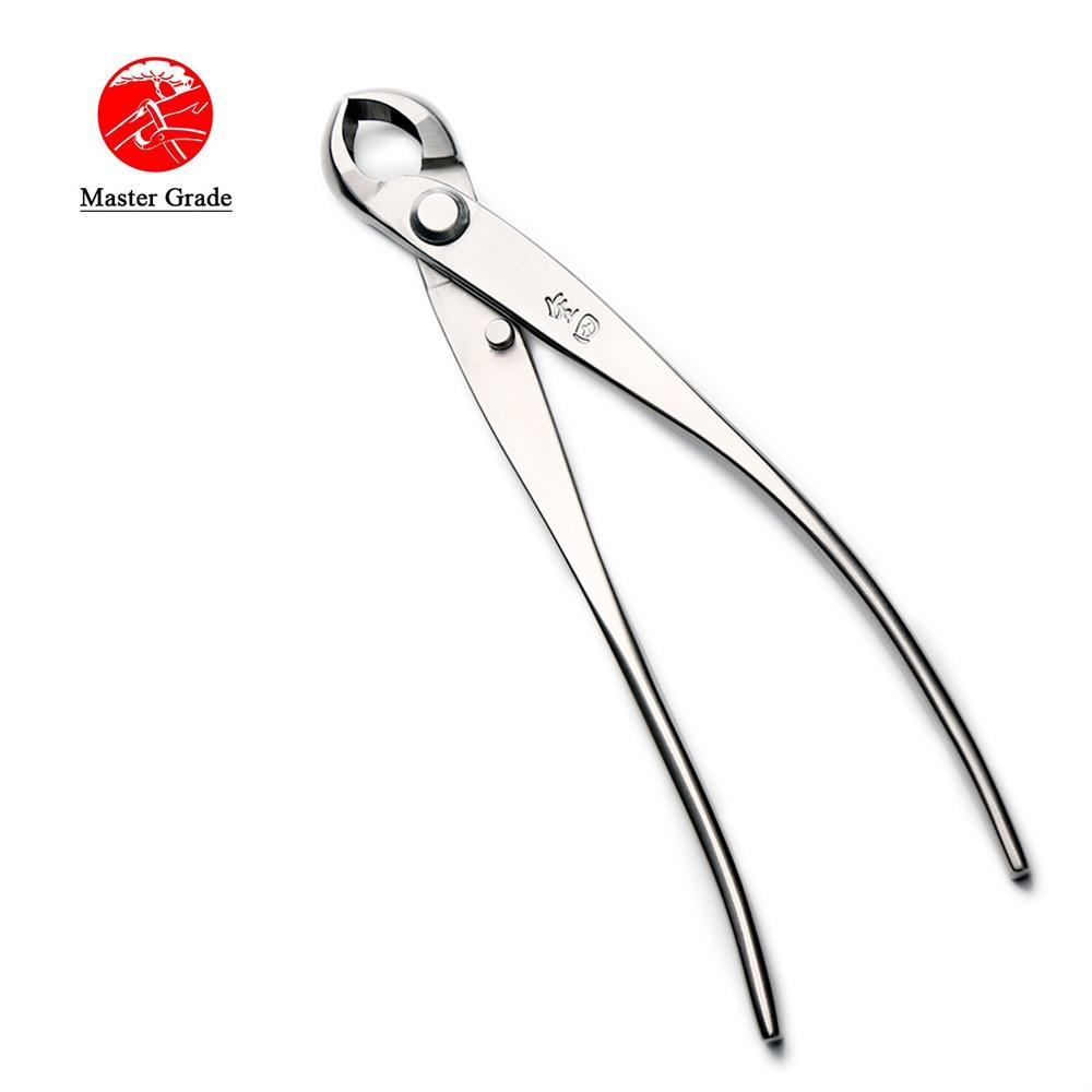 175 mm rankenėlė, įgaubta briaunų pjaustytuvas, pagrindinis kokybės lygis 5Cr15MoV, nerūdijančio plieno bonsai įrankiai, pagaminti TianBonsai įmonės