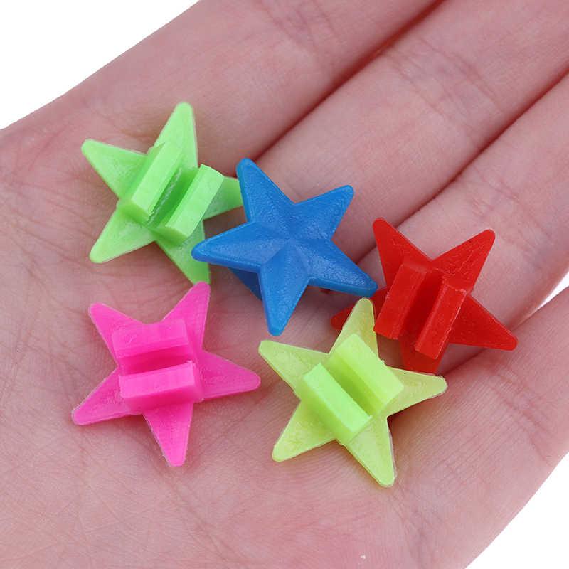 36PCS Bicycle Wheel Spoke Plastic Beads Multi Color Children Clips Decor3 Cy