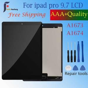 Для Apple iPad Pro 9,7, ЖК-дисплей A1673, A1674, A1675, сенсорный экран, дигитайзер, датчики, сменная панель, ЖК-дисплей для ipad Pro 9,7