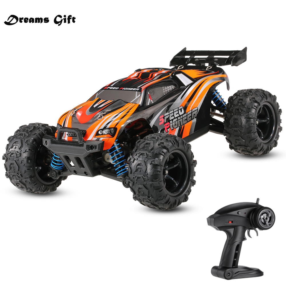 50km/h High Speed Original 4WD Off-Road RC Vehicle Speed for Pioneer 1/18 2.4GHz Racing Car Control Remoto Boys Toys Gifts