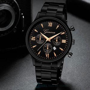 Black Wrist Watch Men Watches