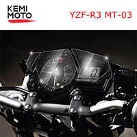 MT 03 Für YAMAHA YZF R3 MT03 Cluster Scratch Tacho Film Screen Protector für Yamaha YZF-R3 MT-03 Motorrad zubehör