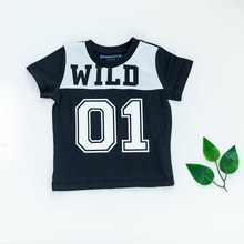Baby Boy Short Sleeve t-shirts Sport Bebe Top Baby Printed Football Tee Kids Clothes Cotton Black White Baby Clothes 0-24Months