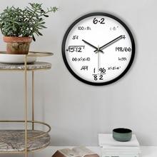 Диаметр 40,5 см беззвучные часы гостиная спальня современная творческая личность модные часы простые кварцевые часы с подвеской