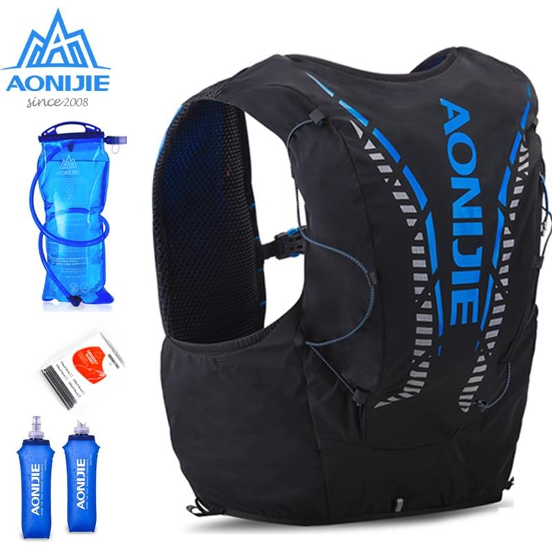 AONIJIE C962 12L Hydration Backpack Advanced Skin  Pack Bag Vest Soft Water Bladder Flask Professional Running Bag