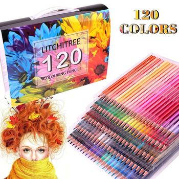 120 Colouring Pencils - 120 Unique Coloured Pencils and Pre Sharpened Crayons for Coloring Book,Ideal Gift for Artists 1