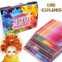 120 kredki do kolorowania-120 unikalne kredki i wstępnie zaostrzone kredki do kolorowania  idealny prezent dla artystów