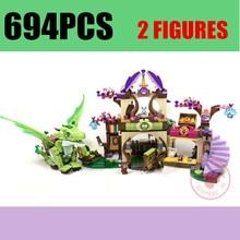 Bela 10504 Elves Secret Place parenting activity education model building blocks compatible with lego gift set kids children цена и фото