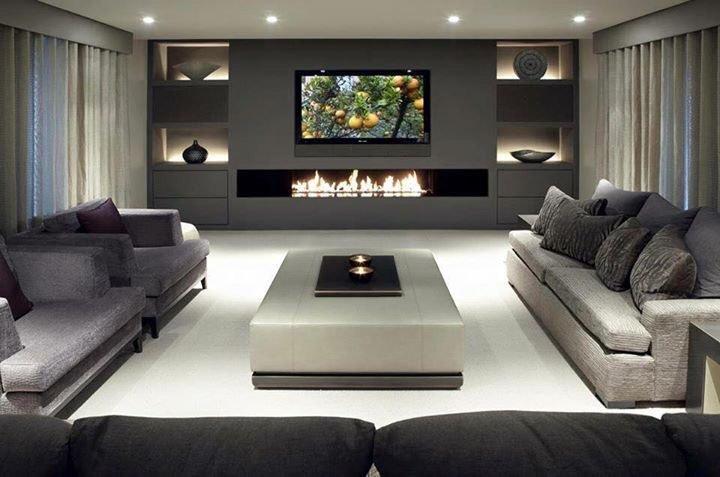Hot Sale 72 Inches Knx Home Automation Quemador Bioetanol Inteligente