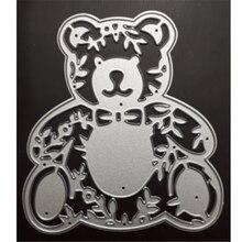 Kokorosa Bear Dies Animal Metal Cutting for Scrapbooking Die Cut Stitch Craft Troqueles New 2019 Stencil
