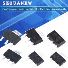 70PCS AMS1117 Voltage Regulator Kit 1.2V/1.5V/1.8V/2.5V/3.3V/5.0V/ADJ 1117 7 values Each 10PCS