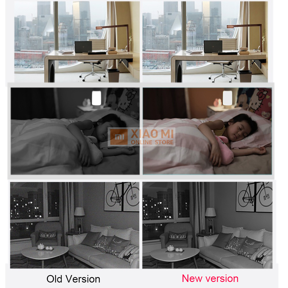 Version mise à jour 2019 Xiaomi IMI caméra intelligente Webcam 1080P WiFi panoramique Vision nocturne 360 Angle caméra vidéo vue bébé moniteur - 5
