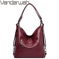 Multi function Designer Handbags High Quality Leather Shoulder Crossbody Bags For Women Bag Female Messenger Bag Ladies Hand Bag