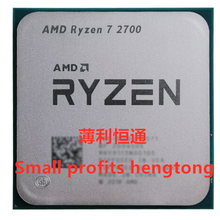 Amd Ryzen 7 2700 2700 3.2 Ghz R7 Acht Core Cpu Processor L3 = 16 M 65 W YD2700BBM88AF AM4 nieuwe Socket, geen Ventilator