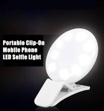 LED-вспышка для фотосъемки с регулируемой яркостью, кольцевой светильник для съемки фото/студии/видео, подходит для iphone 11, Samsung M31s