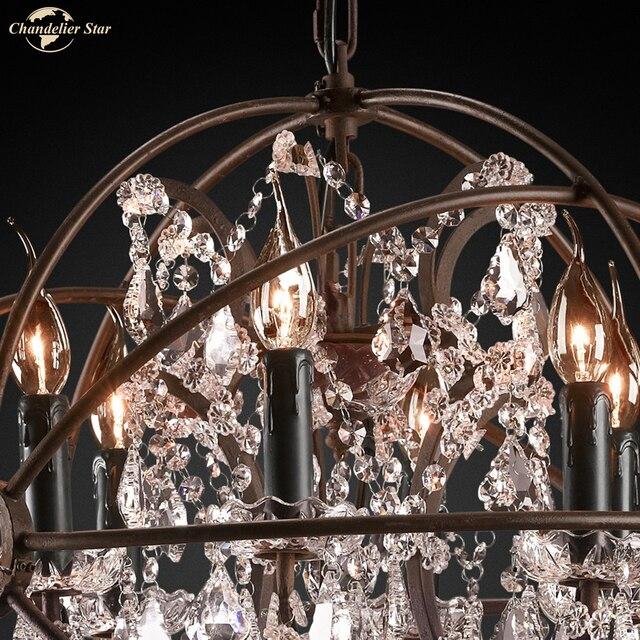 Классические светодиодные люстры светильник в американском стиле