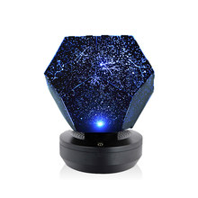 Romantische Led Starry Night Light 3D Star Projector Night Lamp Voor Kinderen Slaapkamer Projectie Thuis Planetarium(China)