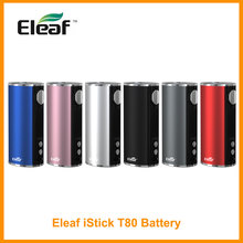 Eleaf iStick T80 мод встроенный аккумулятор 3000 мАч 80 Вт Выход type-C зарядный порт Vape мод VS Eleaf iStick 40 Вт электронная сигарета