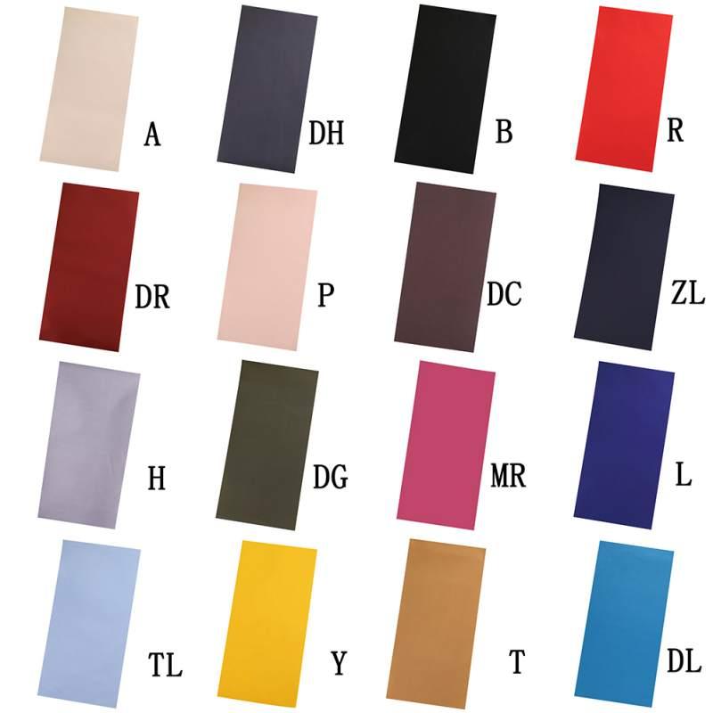 Patch en tissu auto adhésif vers le bas de la veste Patch de réparation en cuir couleur unie imperméable vêtements autocollants New2