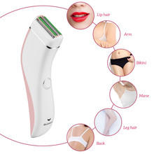 Electric Women Shaver Waterproof Lady Hair Removal Rechargea