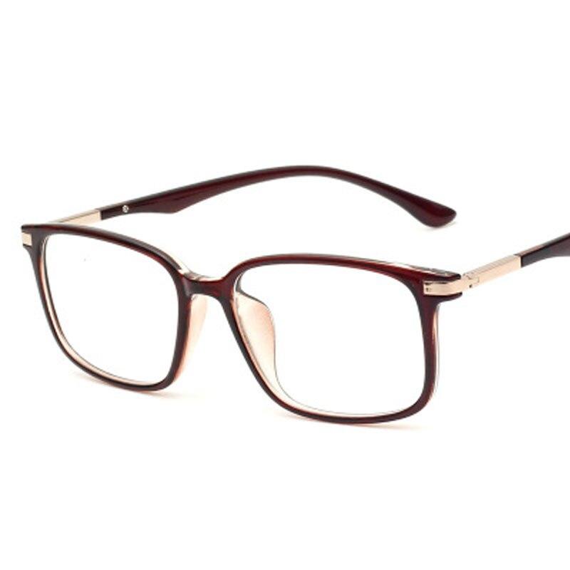 Прозрачные модные женские очки в оправе