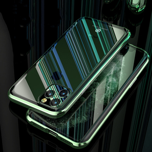 Image 2 - Original BOBYT Metall Fall Für Apple iPhone 11 Pro Max Klar Gehärtetem Glas & Aluminium Stoßstange Fall Abdeckung Für iPhone 11/ Pro/ Max