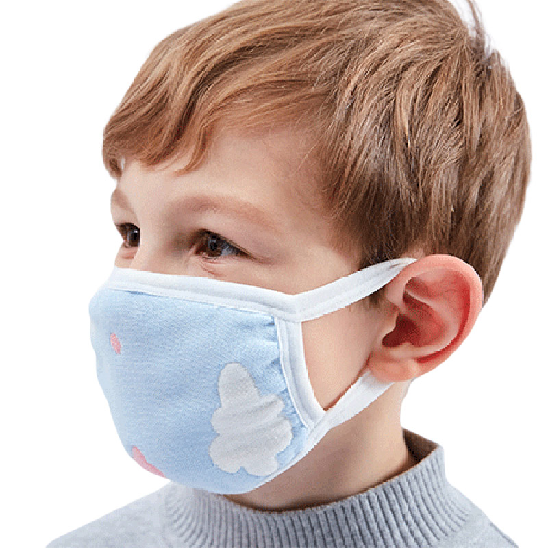 1PC Children's Mask Cotton 6 Layers Of Gauze To Keep Warm Baby Care Set Cartoon Cute Anti-Dust Mouth Mask Face Kids