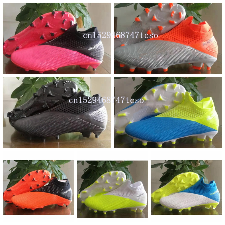 Mens Soccer Shoes Sneakers Indoor Turf Fly Fly High Football Boots Anti-Skid Shoes