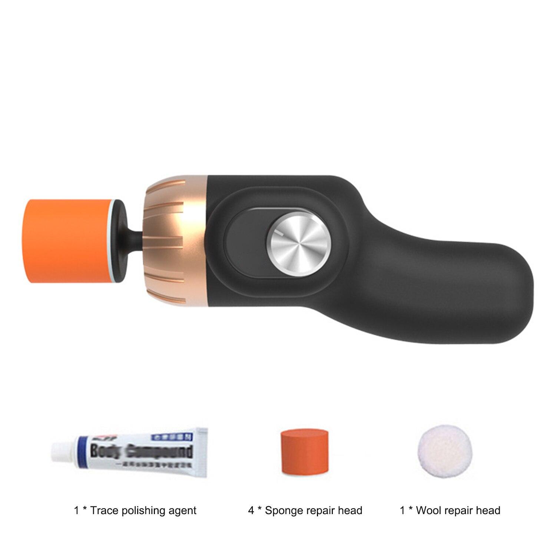 Модернизированная версия Автомобильный Электрический полировщик для очистки и полировки воском автомобильный инструмент для ремонта поверхности царапин|Полировщики|   | АлиЭкспресс