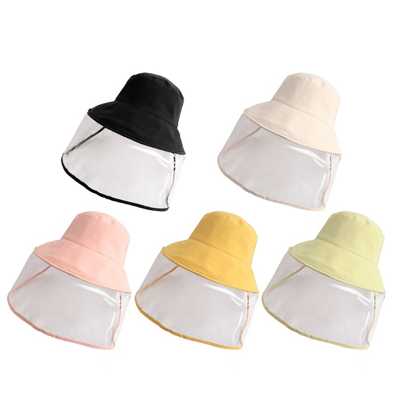 Kids Dust Cover Full Face Cap Multifunctional Hat Children Anti Virus Protect Isolate Hat