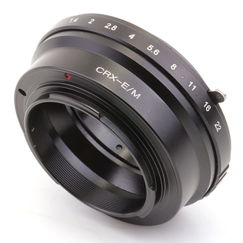 Pixco Lens Adapter Suit For Contarex CRX Lens to Canon EOS MM10 M3 M2 M1 Camera фото