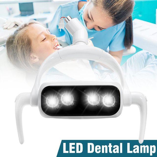 12V-24V 25000LM 22 мм Высокое качество энергосберегающие лампы уход за зубами Индукционная лампа стоматологических инструментов бестеневые ТТ, св...