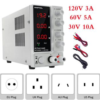 Wanptek Switching Regulated Laboratorium DC Voeding Verstelbare 120V 60V 30V 6A 10A 3A Lab Voltage Regulator bench Bron