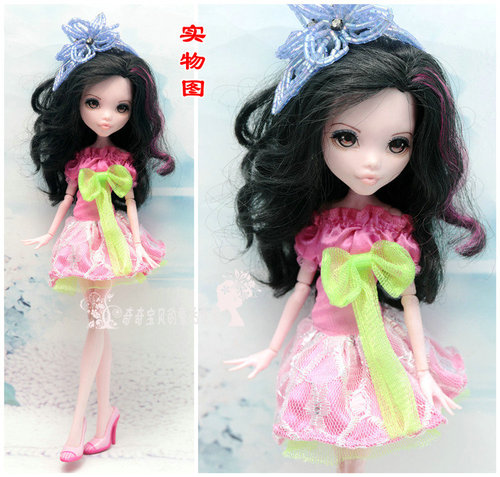 Monstering High Doll Clothes Handmade Outfit Soft Personality Doll Dress Jacket Skirt Doll Clothing Set Quality Doll Clothes 8