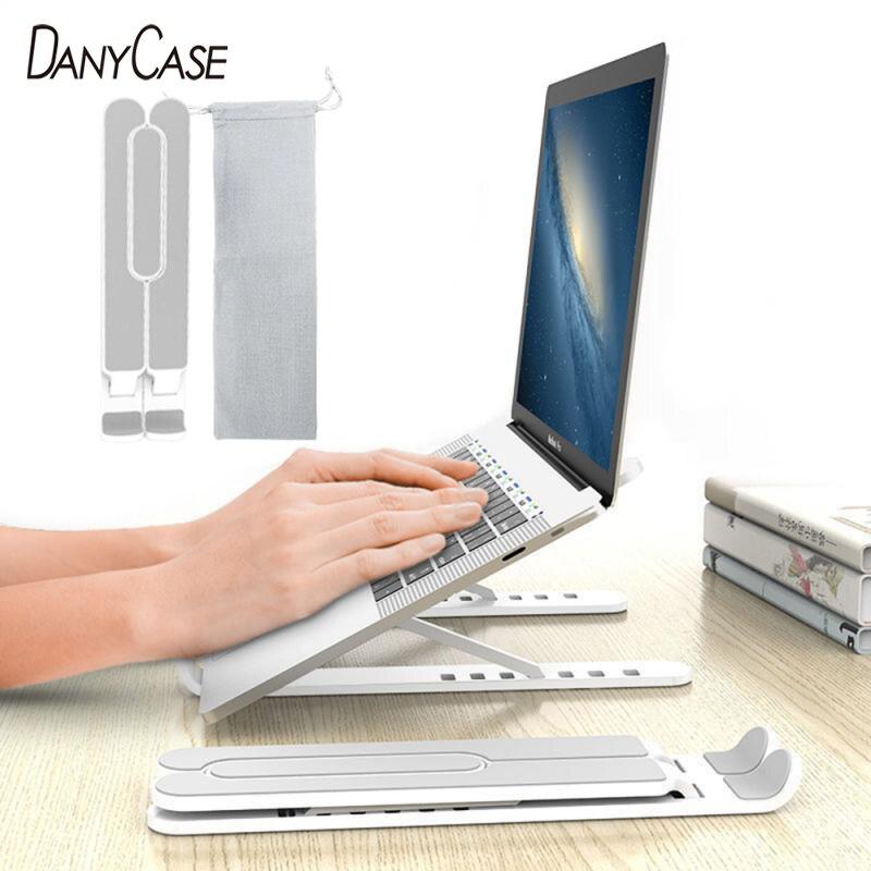 Laptop Tablet Stand Non-Slip Desktop Holder Mounts Laptop Accessories For Macbook Pro Air Notebook Stand Laptop Cooler Holder