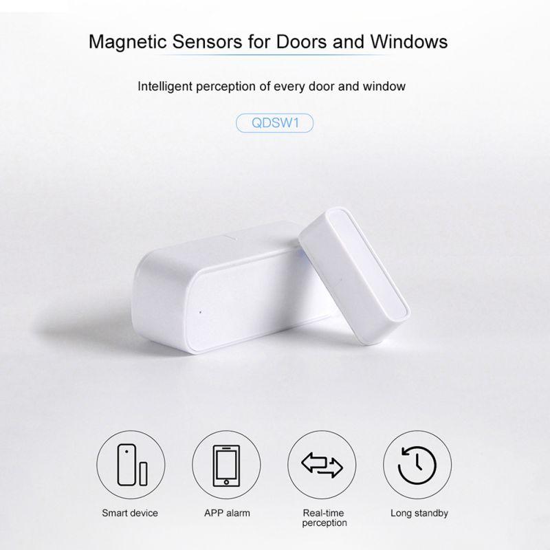 Capteur de fenêtre de porte intelligente 2.4GHz WiFi alarme maison Se cartes mémoire - 4