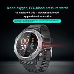 "Image 2 - P8 חכם שעון PPG אק""ג מלא מגע HD מסך Smartwatch עם מצלמה גשש כושר רב ספורט חכם צמיד IP68 עמיד למים"