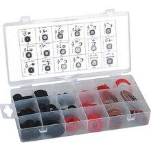 141 шт. резиновый практичный набор шайб упакованная коробка герметизация профессиональная сантехника волокна термостойкие для душевого шланга легко наносится